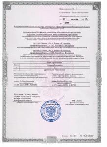 Лицензия 2-15 001